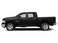 2017 RAM 1500 SLT CREW CAB 4X4 Brilliant Black Crystal Pearl  Shot 3