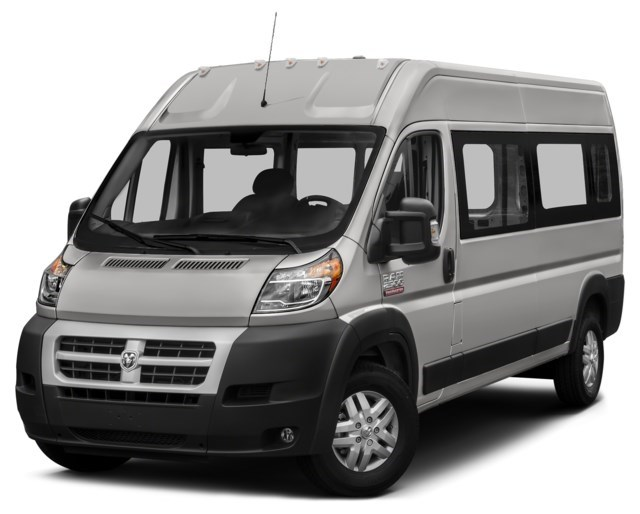 2018 RAM ProMaster 3500 Window Van Bright Silver Metallic [Silver]